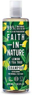 Faith In Nature Šampón citrón a Tea Tree