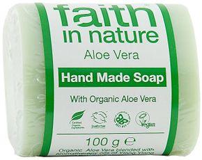 Faith In Nature Tuhé mydlo Aloe vera BIO 100 g aloe vera
