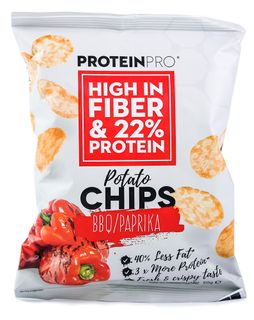 FCB ProteinPro Chips bbq/paprika 50 g
