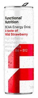 Functional Nutrition BCAA Energy jahoda 330 ml
