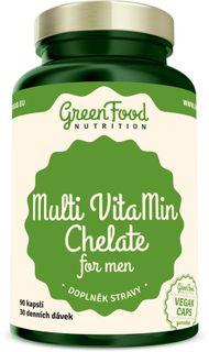 GreenFood Multi VitaMin pre mužov