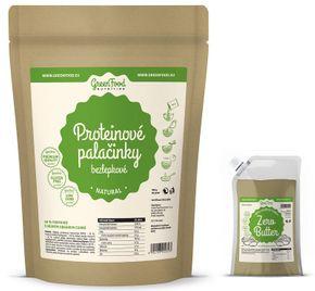 GreenFood Proteínové palacinky bezlepkové natural 500 g
