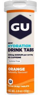 GU Hydration Tabs pomaranč 54 g