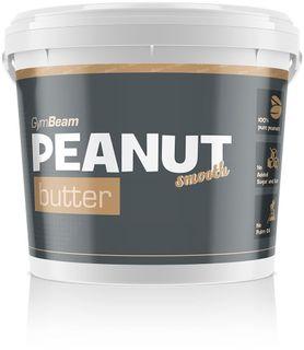GymBeam 100% Peanut Butter jemné arašídy 340 g