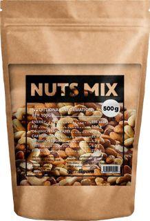 GymBeam Mix prírodných orechov