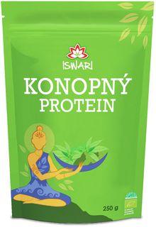 Iswari Konopný proteín 50% BIO