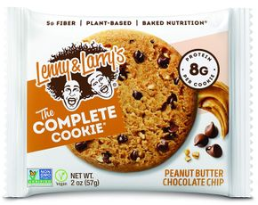 Lenny & Larry's The Complete Cookie peanut butter chocolate chip 57 g