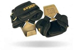 MadMax háčiky Metalic Lat Hooks+ kožené MFA-333