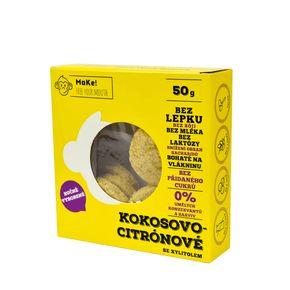 MaKe! Sušienky kokos/citron 50 g