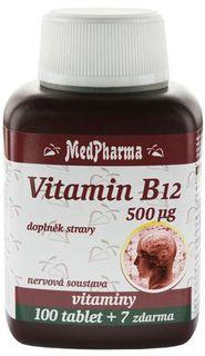 MedPharma Vitamín B12 500 µg