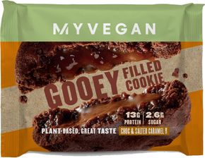 Myprotein Myvegan Filled Protein Cookie čokoláda/slaný karamel 75 g