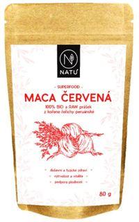 Natu Maca červená prášok BIO