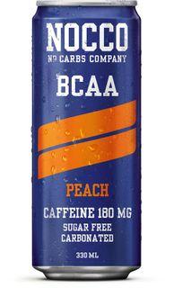 NOCCO BCAA broskev 330 ml (sycený)