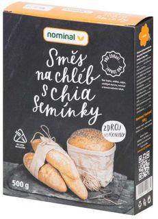 Nominal Zmes na chlieb s chia semienkami 500 g