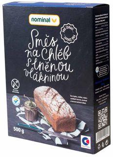 Nominal Zmes na chlieb s vlákninou s lněnou vlákninou 500 g