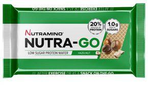 Nutramino Nutra-Go Protein Wafer lískový oříšek 39 g