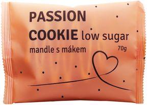 Passion Bar Protein Cookie Low Sugar mandle/mak 70 g