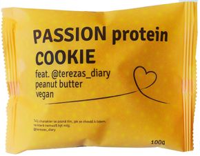 Passion Bar Protein Cookie vegan peanut butter feat. @terezas_diary 100 g
