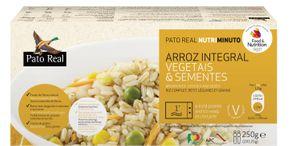 Pato Real Mix hnedá ryža, zelenina, semienka