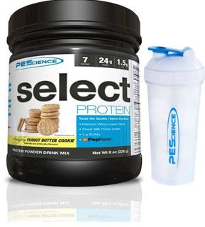 PEScience Select Protein US vanilka 1710 g