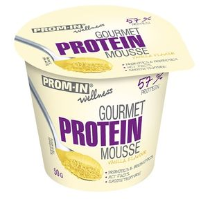 Prom-IN Gourmet Protein Mousse vanilka 50 g