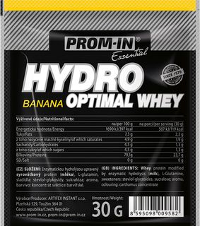 Prom-IN Hydro Optimal Whey banán 30 g