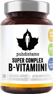 Puhdistamo Super Vitamin B Complex