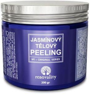 Renovality Jazmínový telový peeling 200 g