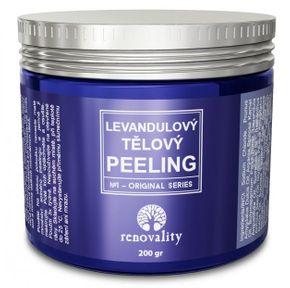 Renovality Levanduľový tělový peeling 200 g