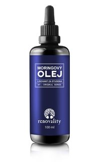 Renovality Moringový olej lisovaný za studena