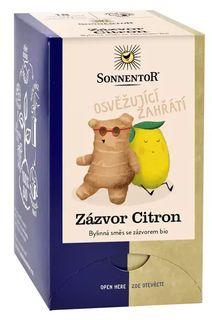 Sonnentor Zázvor Citrón BIO