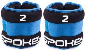 Spokey závažie na ruky a nohy Form modrá 2 x 2 kg