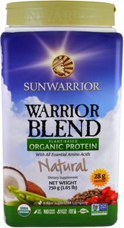 Sunwarrior Warrior Protein Blend BIO natural 750 g