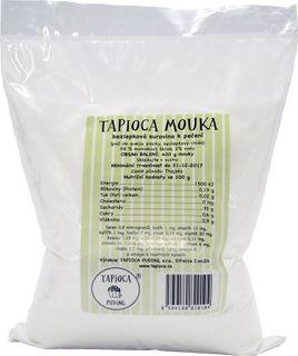 Tapioca puding Tapioková múka