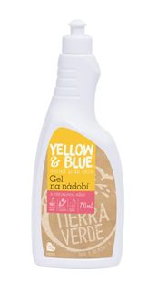 Yellow & Blue Gél na riad