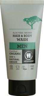 Urtekram Šampón na telo a vlasy Men BIO
