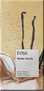 VIVANI Čokoláda BIO biela čokoláda/vanilka 80 g