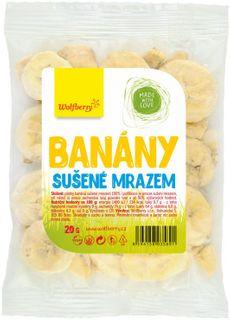 Wolfberry Banány sušené mrazom