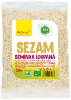 Wolfberry Sezamové semienko lúpané BIO