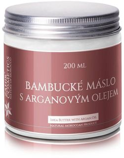 Zahir cosmetics Bambucké maslo s arganovým olejom