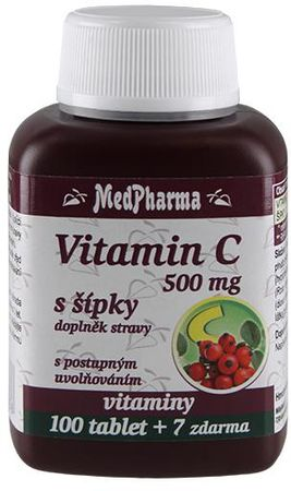 MedPharma Vitamín C 500mg zo šípku