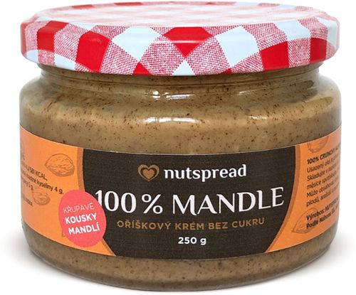 Nutspread 100% Mandle