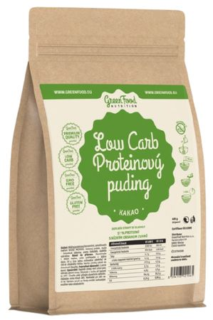 GreenFood Low Carb Proteínový puding