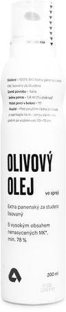 Aktin Extra panenský olivový olej v spreji BIO