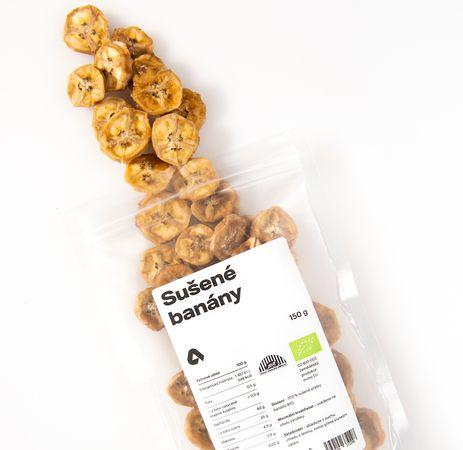 Aktin Sušené banány BIO
