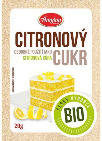 Amylon Citrónový cukor BIO