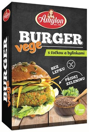 Amylon Vege Burger so šošovicou a bylinkami