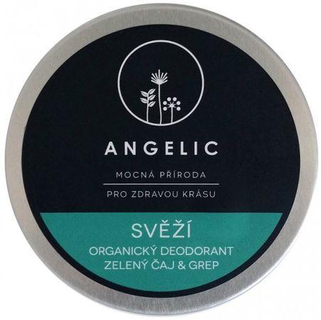 Angelic Svieži deodorant Zelený čaj & grep