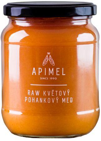 Apimel RAW Kvetový pohánkový med
