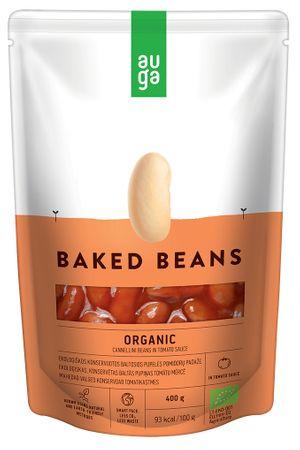 AUGA ORGANIC Pečené fazule v paradajkovej omáčkea